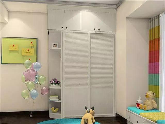 儿童房柜子效果图