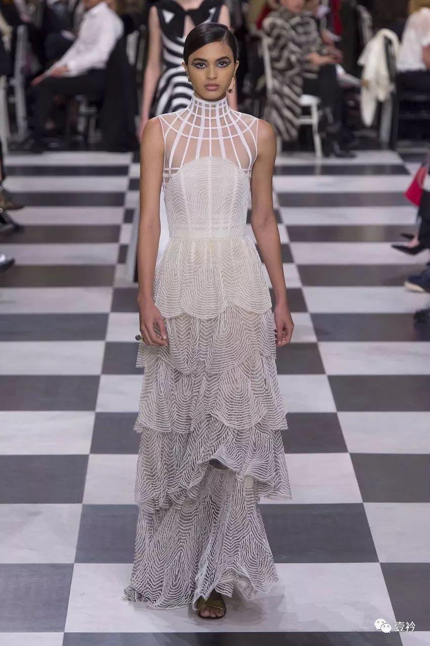 huge discount 9d7bc 6fcfa Christian Dior 2018ss Couture | 超現實主義的神秘面紗- 雪花新聞