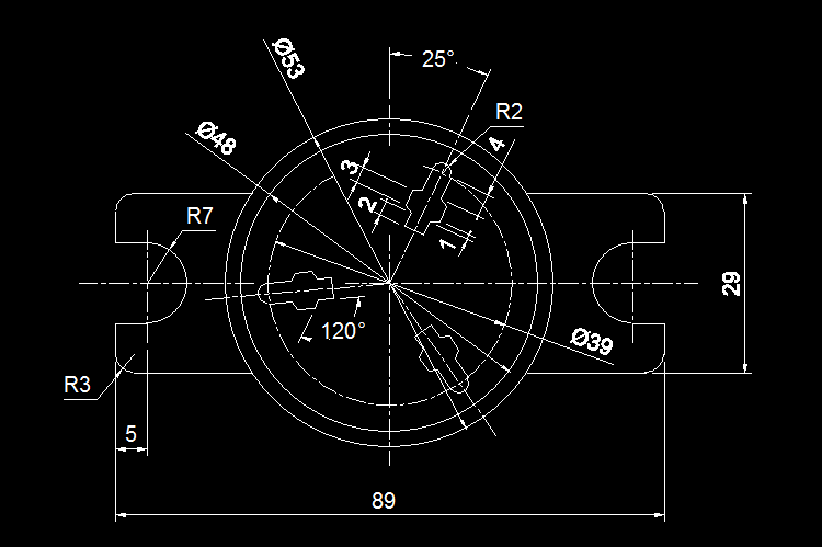 新手必练的10张cad练习图纸,足够让你玩转cad绘图