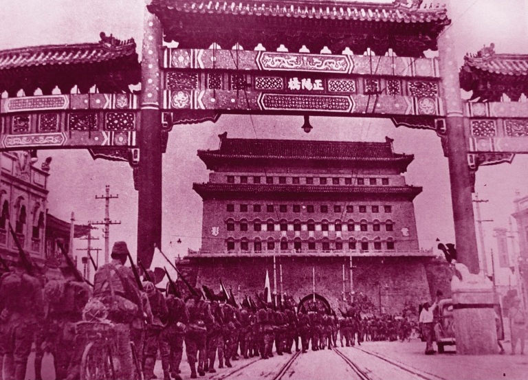 民国珍贵老照片_历经沧桑的北平城