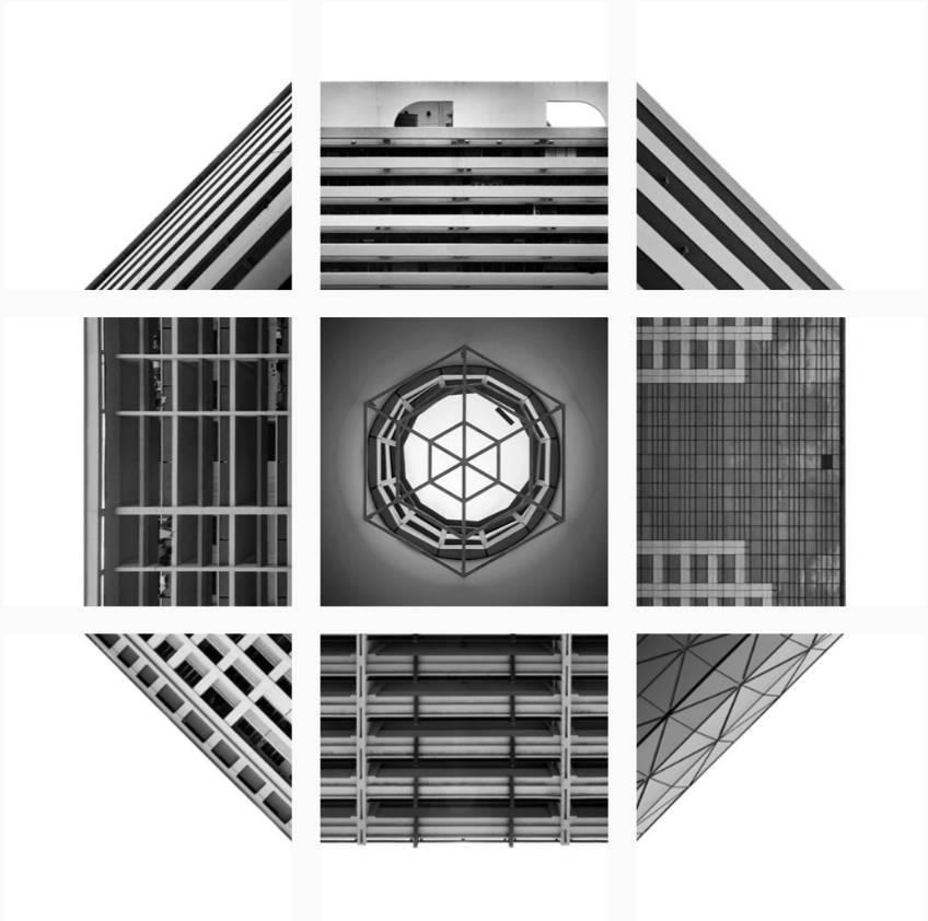 建筑人如何制霸朋友圈九宫格?这份创意建筑拼贴秘籍请图片