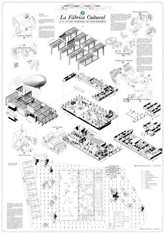 建筑排版 - 竖版35例