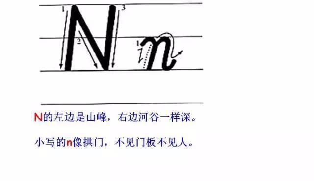 誉博学员手写英语堪比印刷体 26个字母这么写,考试至少多加20分