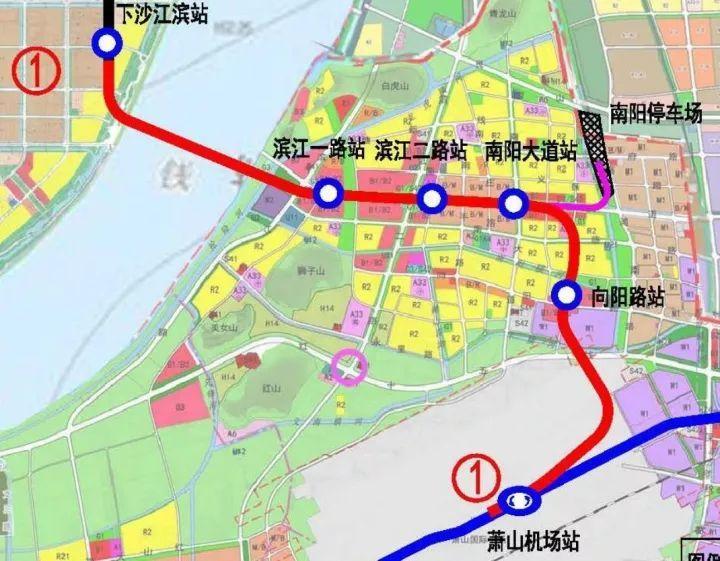 杭绍甬高速公路规划图