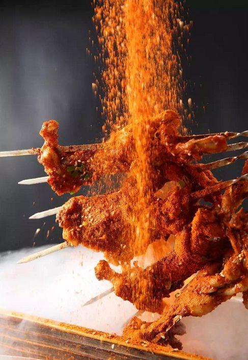 刺火烤_特色烤鱼,特别选用了 清江鱼,刺少肉嫩.