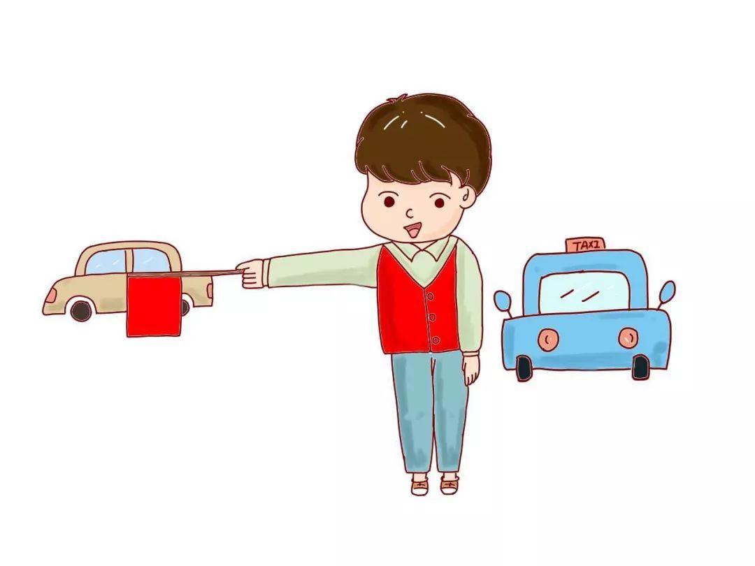 交通志愿者图片