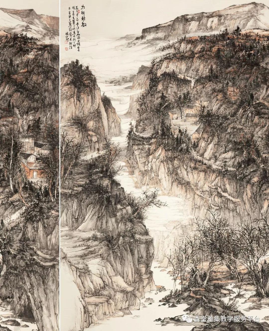 北京香堂雅集2018春季國展創作強化班招生簡章圖片