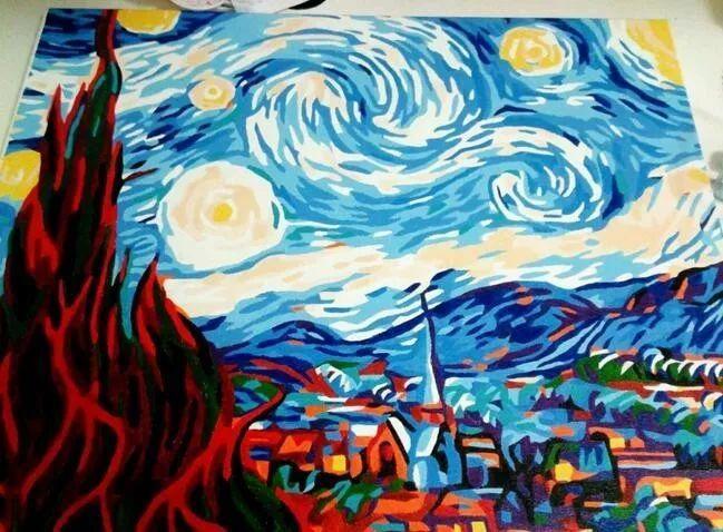 (图片来源网络) 长大后 好佩服达芬奇,毕加索 (图片来源网络) 油画
