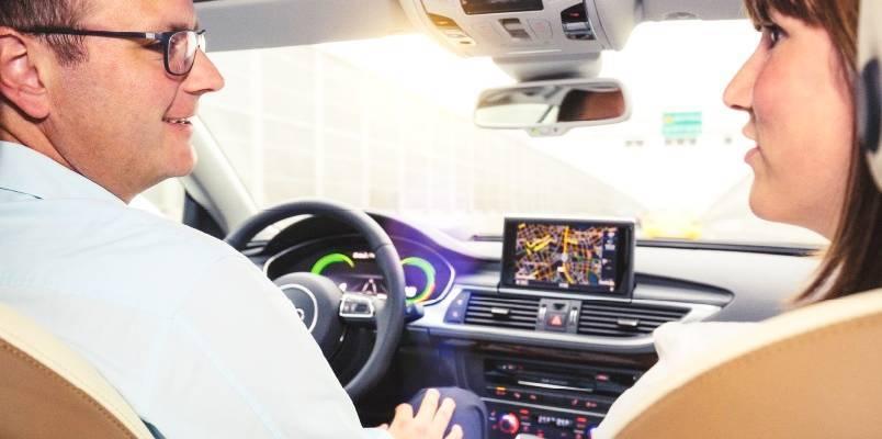 奥迪与英伟达联手 2020年推出4级自动驶