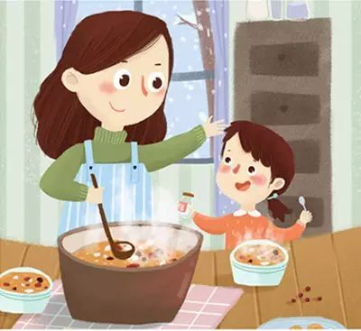 """腊八将至,如何熬一碗宝宝爱喝的""""腊八粥""""?图片"""