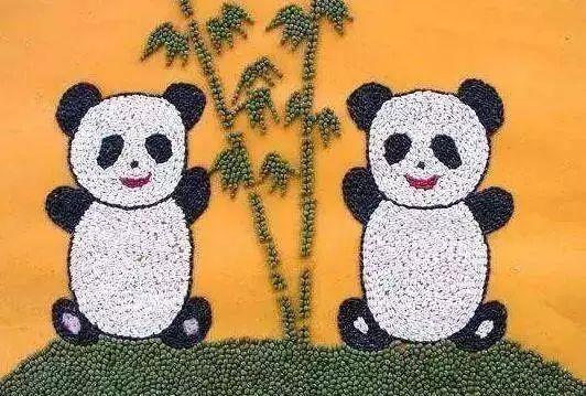 熊猫立体手工制作