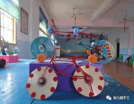 【手工玩教具】幼儿园小汽车手工制作,卫生纸筒制作小汽车的做法图解