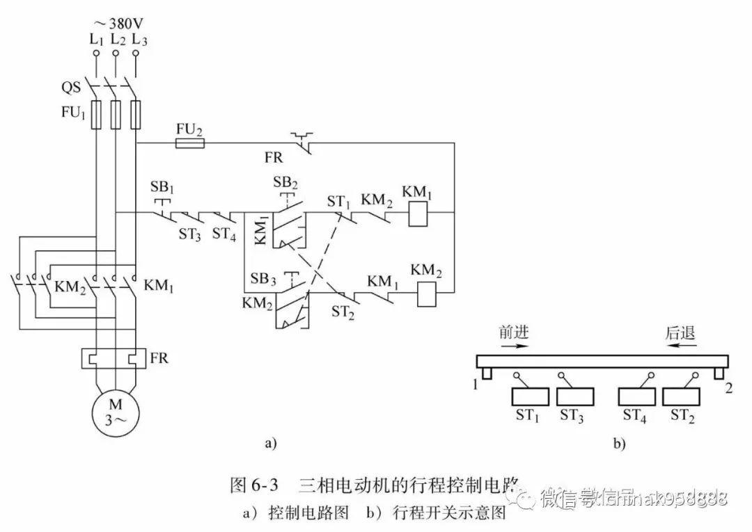 4.三相异步电动机的时间控制电路(延时控制电路)