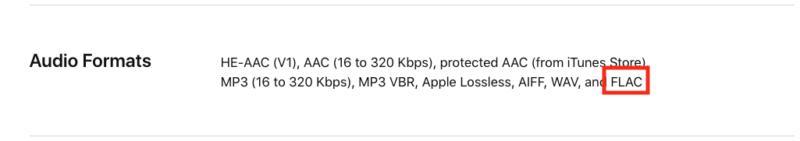 发烧友福音!HomePod 支持无损 FLAC 档播放