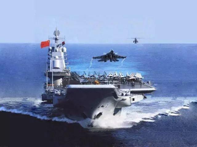 未来中国也将会发展大型核动力航母,整个航母编队也将会超过1000亿元