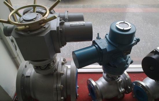 兰州-定西天然气管道正式开阀,气动球阀使天然气运输更加安全图片