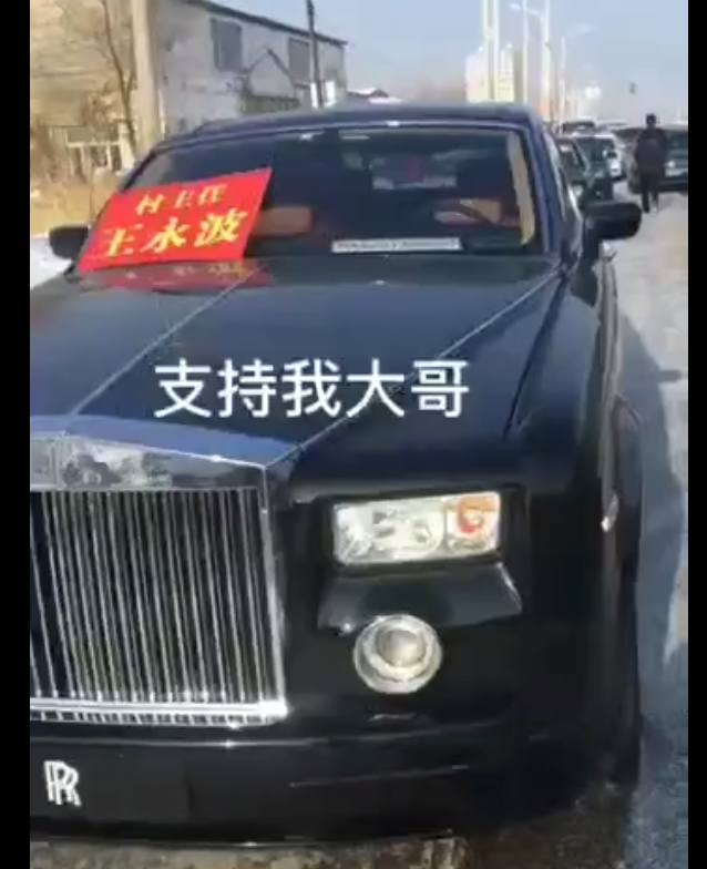 哈尔滨一村选村长多辆豪车助阵拉票 宣传部:正在调查有没有没钱没人能当官的 - yuhongbo555888 - yuhongbo555888的博客