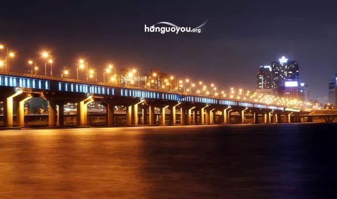 壁纸 大桥 桥 桥梁 夜景 690_408
