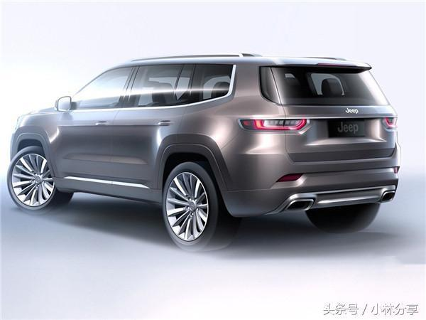 jeep最新七座SUV曝光 25万起剑指汉兰达!