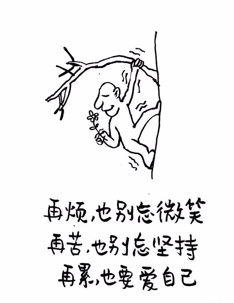 广州美食简笔画手绘的