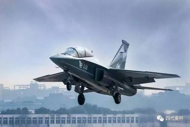 中国高级教练机优势外露!外贸版L15尾部现神秘装备