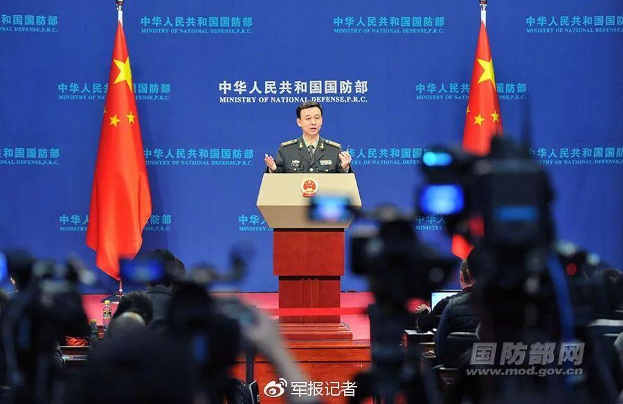"""国防部回应""""武统"""":决不允许台湾分裂出去"""