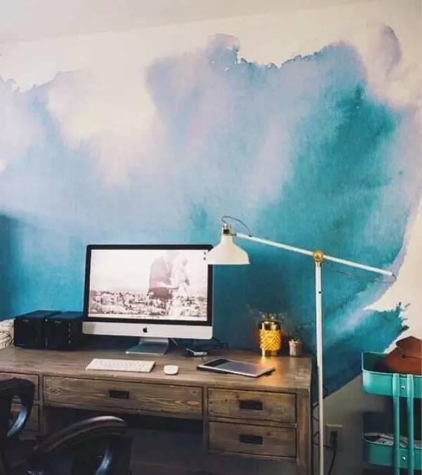 【室内】看看人家的手绘墙,你家的只能叫墙!