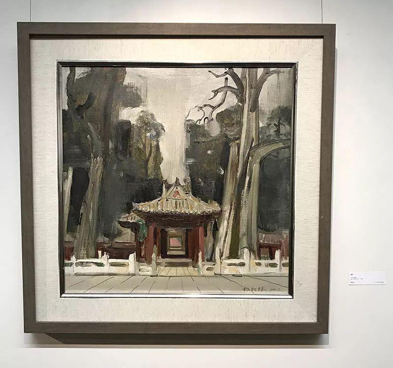"""""""和-当代中国小幅油画展""""参展艺术家作品欣赏(一)图片"""
