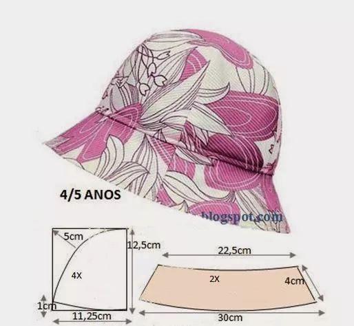 图纸集   马甲,内裤,帽子的裁剪图合集