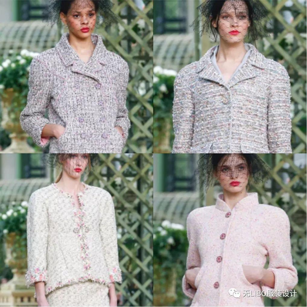 香奈儿 Chanel 的面料这一年年真的看的够够的啦!