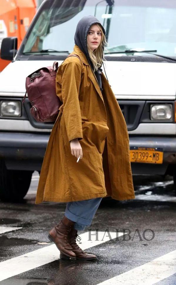 九分裤+大衣,九分裤+短靴,暖和洋气还能穿出大长腿!