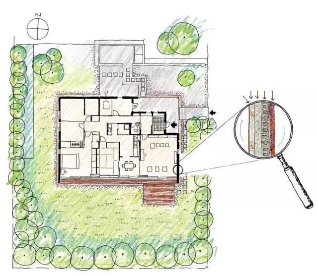 24位建筑师的家长啥样?24+幅手绘平面图带你一探究竟!图片