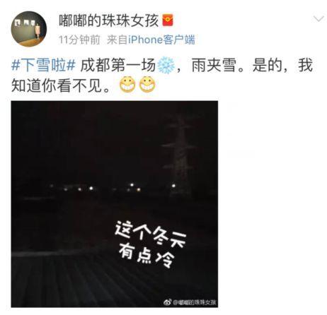 东郊记忆 犀浦 没想到今早起来 成都主城区的雪还在下!图片