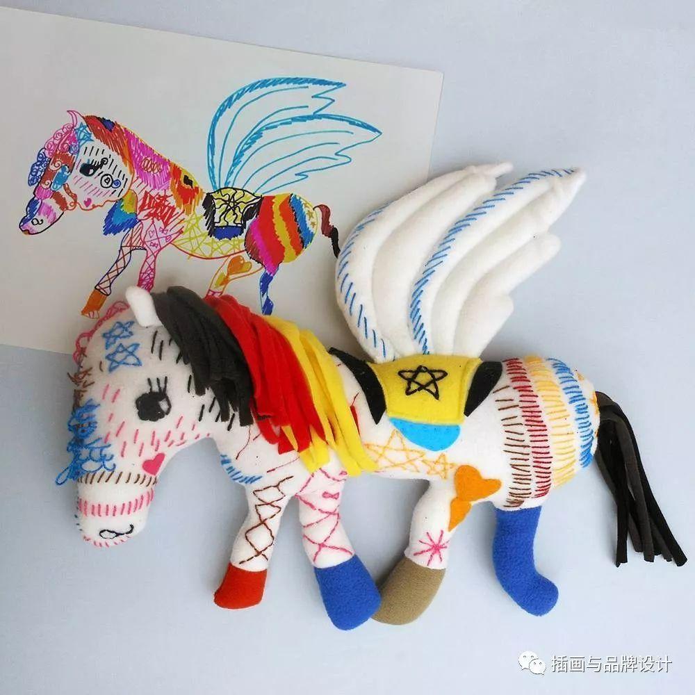 可爱小猪 大嘴巴怪 可爱小鸡 wilma做的玩偶都是全手工制作 每一个都