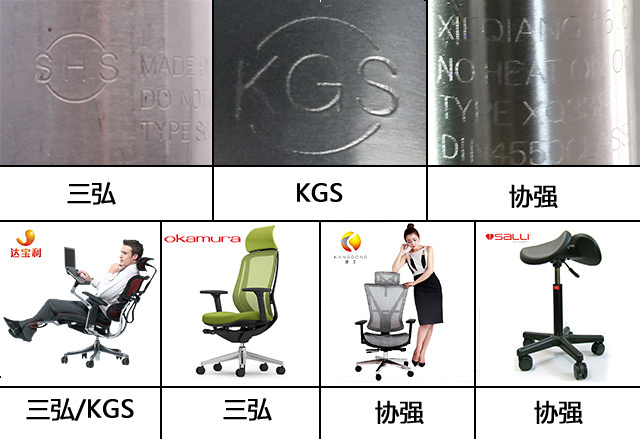 办公椅使用的气压棒是关系到用户安全的一个重要部件,劣质办公椅爆炸图片