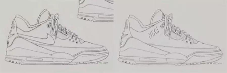 创意无限诸多细节的三双全新 Air Jordan 3,哪双朋友们最爱?莆田高仿鞋,莆田精仿鞋,莆田鞋网