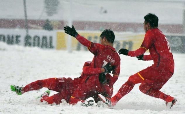 常州暴雪+3小时决战,U23亚洲杯越南决赛遭绝杀仍