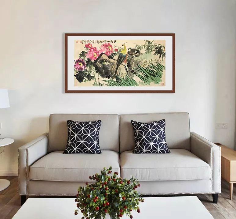 创意沙发情景手绘图