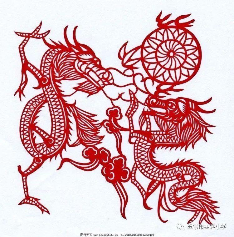一年六班 传承中华文化,体验剪纸艺术 实践活动图片
