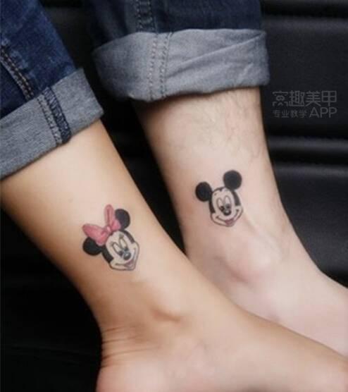 最长情的誓言 来个有爱的情侣纹身吧