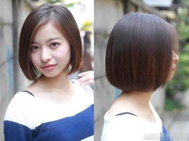 有了这些发型,脸再大也不怕 说到去理发点剪头发,大饼脸的女孩子是最图片