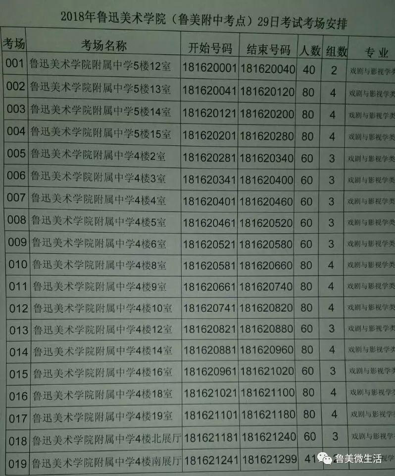 2018鲁美校考拉开序幕(附鲁美附中考点指南)图片