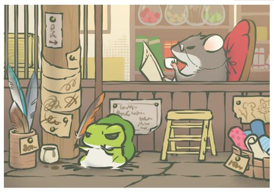 旅行青蛙 旅かえる 一夜爆红的国民佛系呱儿子