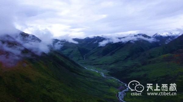 去过100次西藏,你也未必走过藏北这条峡谷,美到开挂!