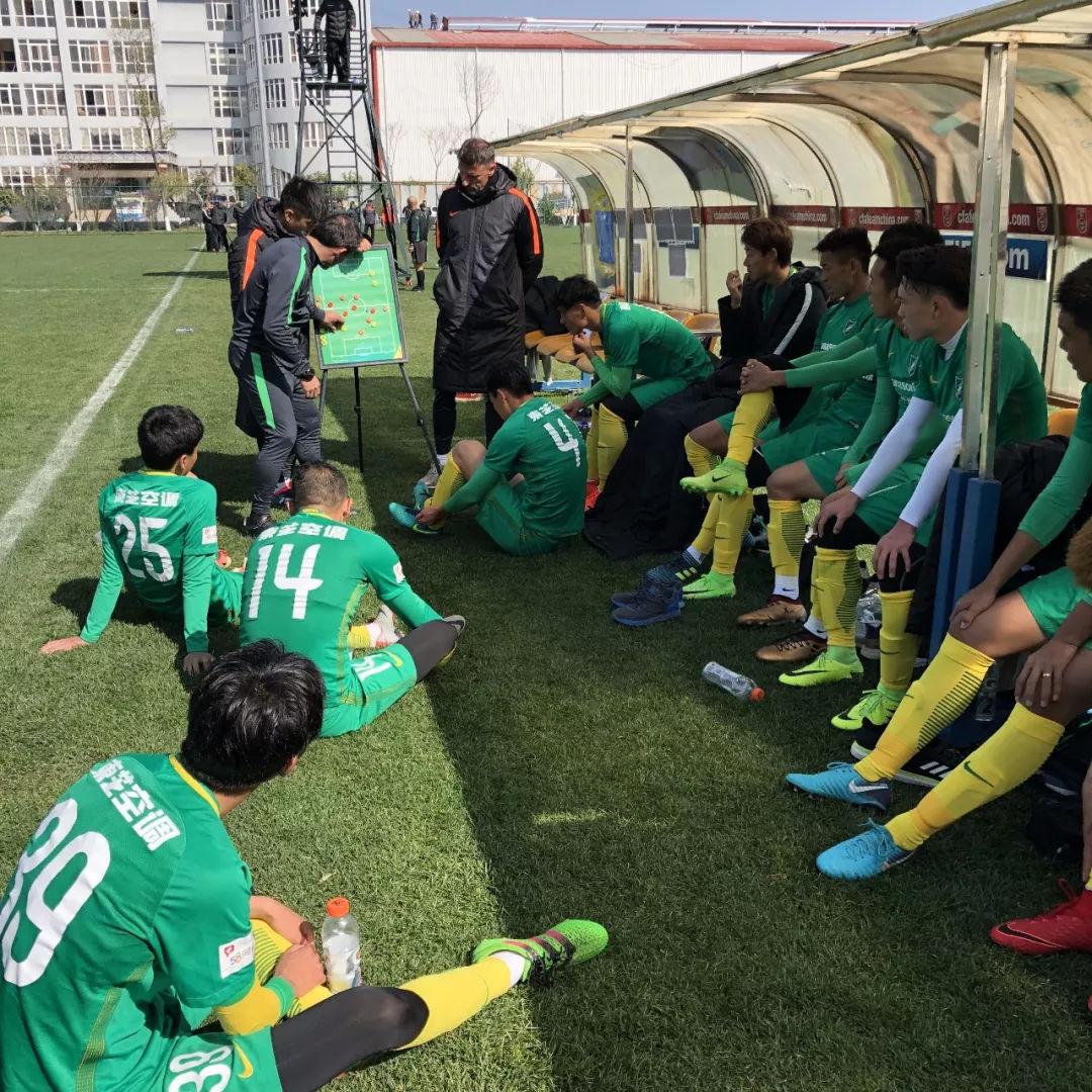 绿城昆明最后一场热身赛结束 球队周五飞往深圳