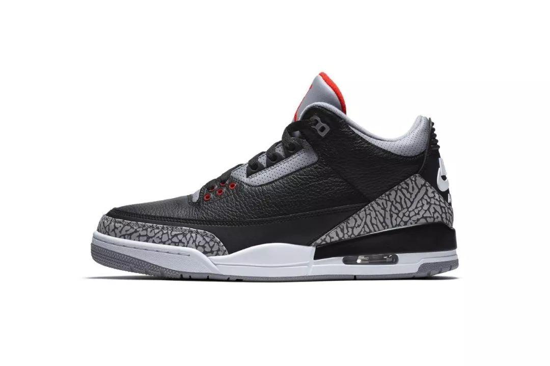 #BT新品预告#【经典回归| Air Jordan 3「Black Cement」】_搜狐游戏_搜狐网