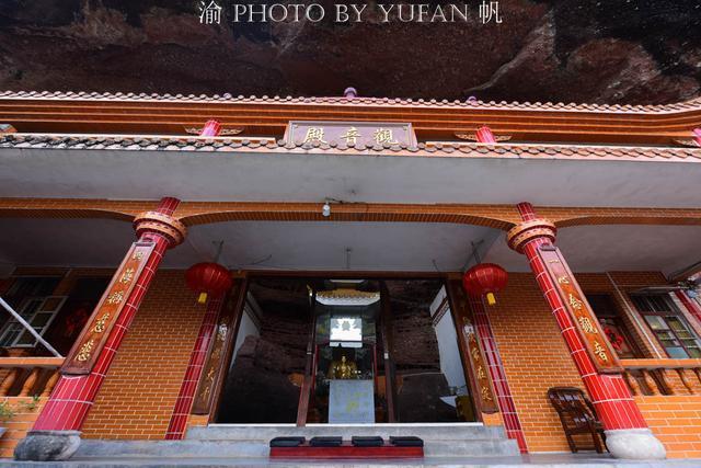 广西也有悬空寺,修在悬崖峭壁的天然洞穴之中,苏东坡也曾游过