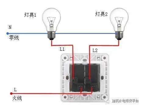 你要找的家庭电路控制电路实物接线图,开关控制电路都在这里了!