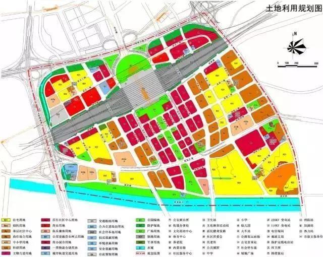 当涂县南部新城规划图