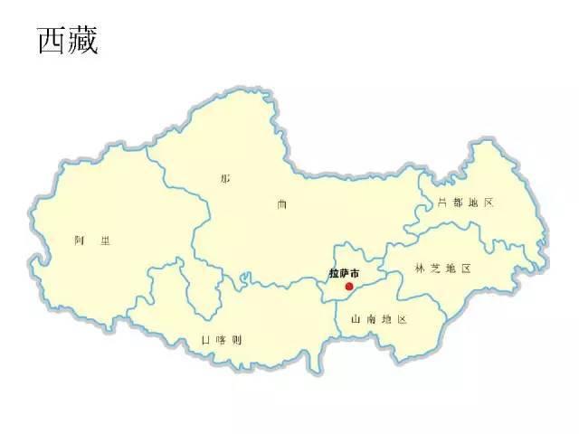 中国各省市地图,轮廓,名称清晰可见,超棒!